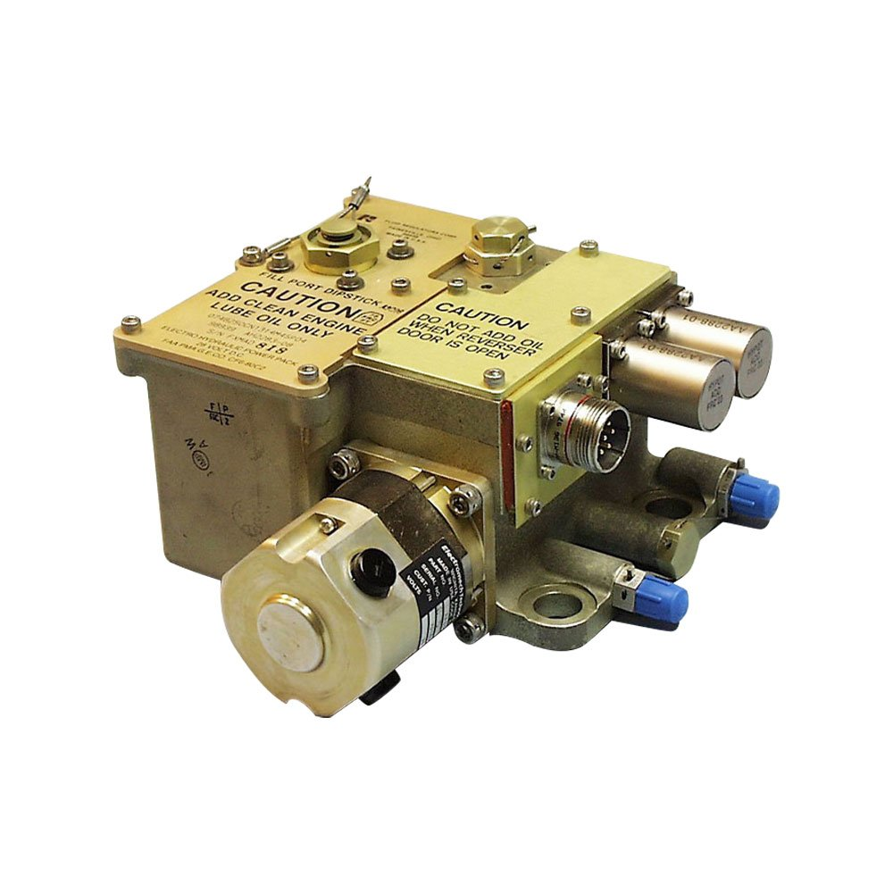 Electro-Hydraulic Power Units for Aircraft Utility Control Systems